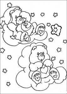 kleurplaat Troetelbeertjes (19)