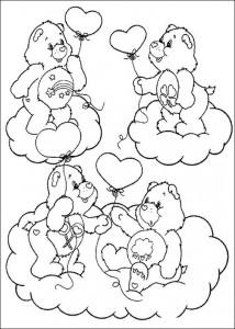 kleurplaat Troetelbeertjes (21)