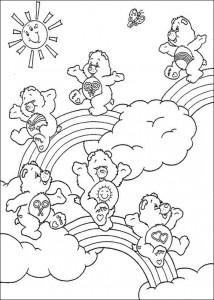 kleurplaat Troetelbeertjes (24)