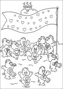 kleurplaat Troetelbeertjes (30)