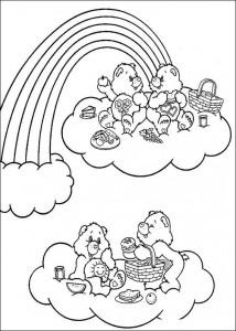 kleurplaat Troetelbeertjes (32)