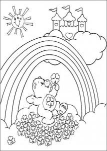 kleurplaat Troetelbeertjes (33)
