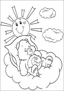 målarbok Care Bears (36)