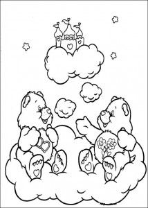 kleurplaat Troetelbeertjes (39)