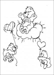 målarbok Care Bears (4)