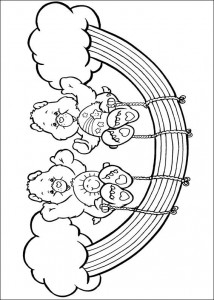 kleurplaat Troetelbeertjes (40)
