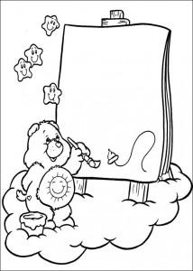 kleurplaat Troetelbeertjes (41)