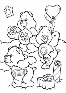 kleurplaat Troetelbeertjes (45)