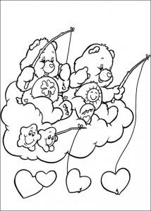 kleurplaat Troetelbeertjes (49)