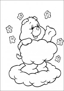 målarbok Care Bears (55)