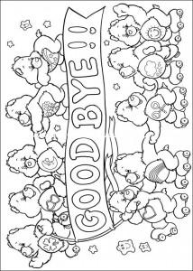 kleurplaat Troetelbeertjes (56)