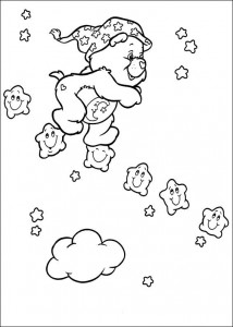 coloring page Care Bears (58)