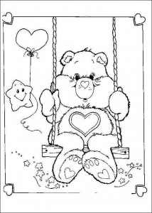 målarbok Care Bears (7)