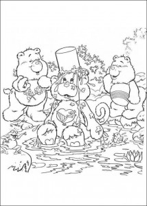 målarbok Care Bears (8)