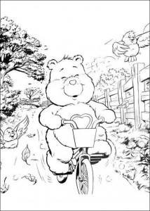 målarbok Care Bears (9)