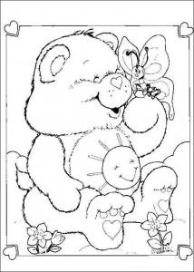 målarbok Vårdbjörnar
