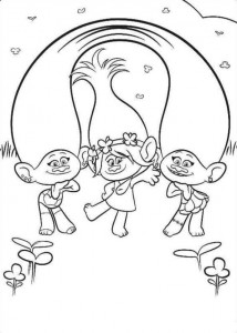 coloring page Trolls (10)