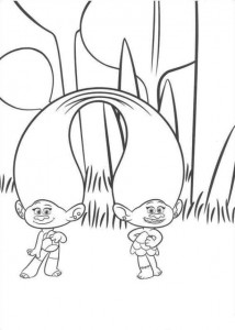 coloring page Trolls (11)