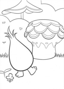 coloring page Trolls (3)