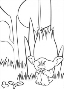 coloring page Troll (5)