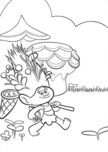 coloring page Trolls (6)
