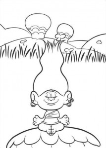 coloring page Trolls (7)