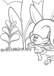 coloring page Trolls (9)