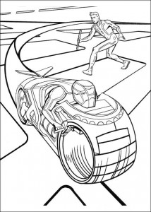 coloring page Tron (10)