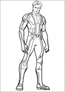coloring page Tron (14)