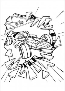 coloring page Tron (15)