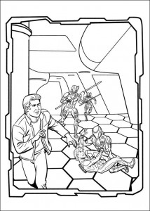 coloring page Tron (18)