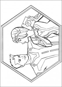 coloring page Tron (19)