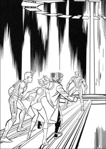 coloring page Tron (2)