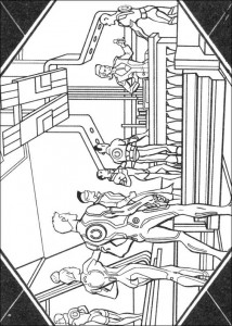 coloring page Tron (22)