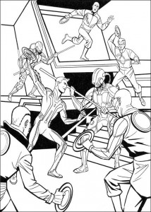 coloring page Tron (24)