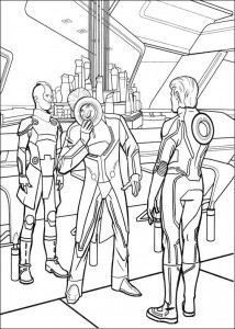 coloring page Tron (26)