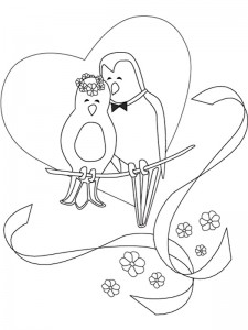 coloring page Getting married (10)