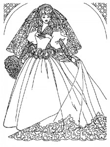 coloring page Getting married (15)
