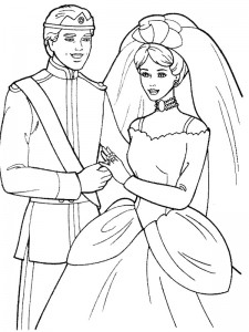 coloring page Getting married (16)