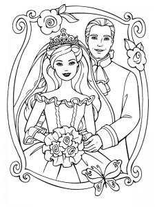 coloring page Getting married (18)