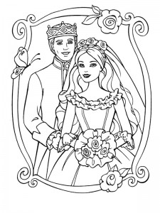 coloring page Getting married (19)