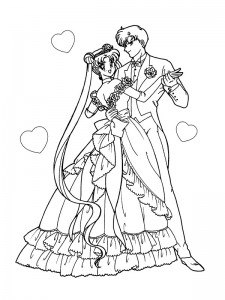 coloring page Getting married (9)