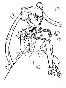 coloring page Getting married