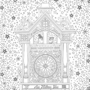 coloring page Garden of time (3)