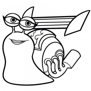 coloring page turbo Burn