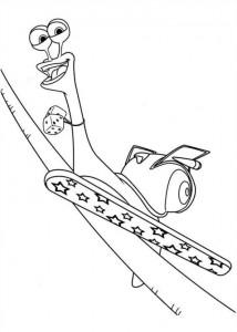 målarbok Turbo (Pixar) (14)