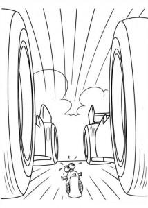 målarbok Turbo (Pixar) (20)