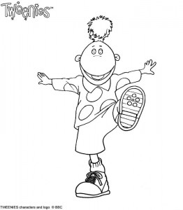 coloring page Tweenies (1)