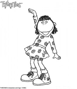 coloring page Tweenies (12)