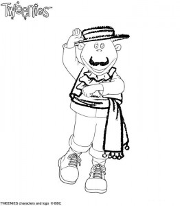 coloring page Tweenies (2)